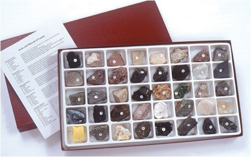 American Educational Products Hubbard Scientific Canadian Rock and Mineral Collection ()