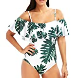 DIMANUL Colorful Monokini Swimsuits for Women Black Push Up Girl Swimsuit Floral Sexy Bikinis Swimwear Bathing Suit