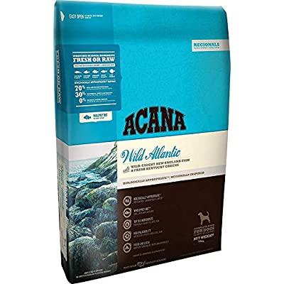 ACANA 25 LB Regionals Wild Atlantic Dry Dog Food. (Biologically Appropriate) Blue Bag
