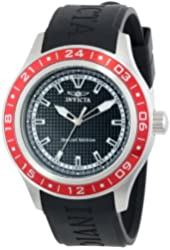 "Invicta Men's 15227 ""Specialty"" Red Stainless Steel and Polyurethane Watch"