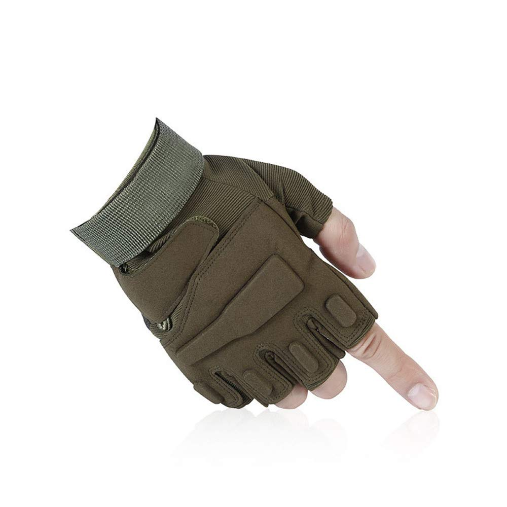 Sdcvopl 保護手袋 通気性 滑り止め サイクリング用セミミトン 単語ミトン 換気   B07PWNTV29