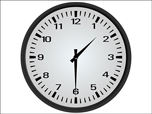 a4 size analog clock novelty cake toppers decorations on edible rice