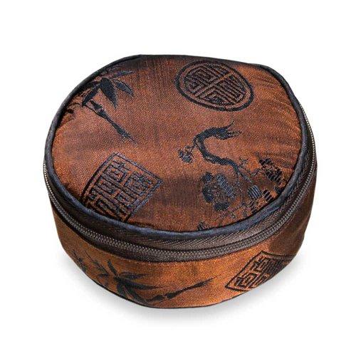 Travel Jewelry Case - Silk Jacquard