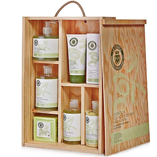 Estuche regalo cosmética madera