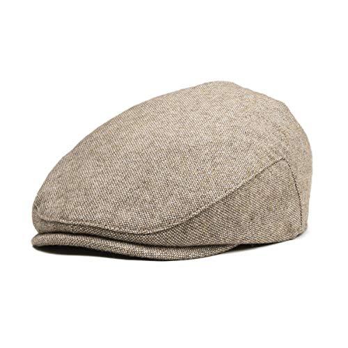 JANGOUL Kids Wool Tweed Flat Cap Herringbone Boy Girl Newsboy Caps Infant Toddler Child Youth Beret Hat Ivy Gatsby Cap ()