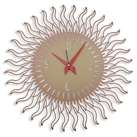 Buy Laser Venue Sun Shaped Designer Wall Clock Online At Low
