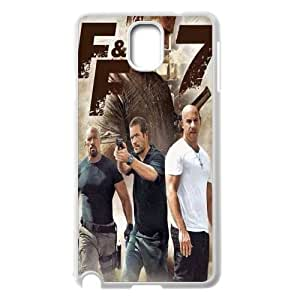 DDOUGS furious 7 Personalized Cell Phone Case for Samsung Galaxy Note 3 N9000, Best furious 7 Case