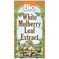 Bio Nutrition White Mulberry Leaf Extract, 60 Vcaps (Pack Of 3)