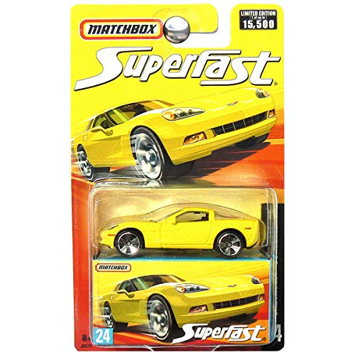 Matchbox Superfast #24 Chevrolet Corvette C6