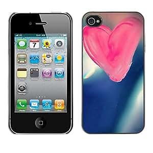 Cubierta de la caja de protección la piel dura para el Apple iPhone 4 / 4S - Pirate Skeleton Phone