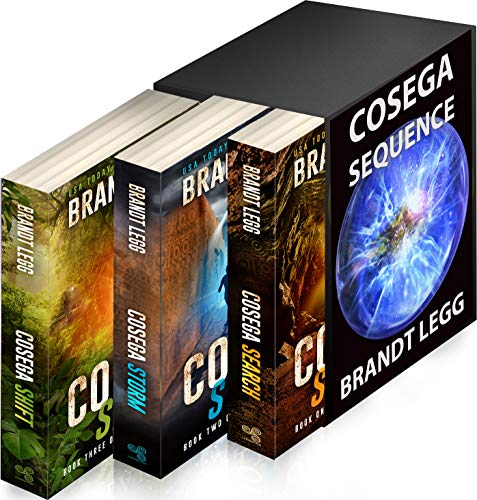 The Eysen - An Archaeological TechnoThriller: Cosega Sequence Books 1-3 by [Legg, Brandt]