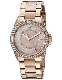 Juicy Couture Women's Laguna Quartz Gold Casual Watch(Model: 1901410)