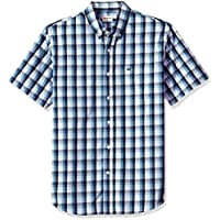 Dockers Men's Comfort Stretch Soft No Wrinkle Short Sleeve Button Front Shirt