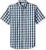 #6: Dockers Men's Comfort Stretch Soft No Wrinkle Short Sleeve Button Front Shirt
