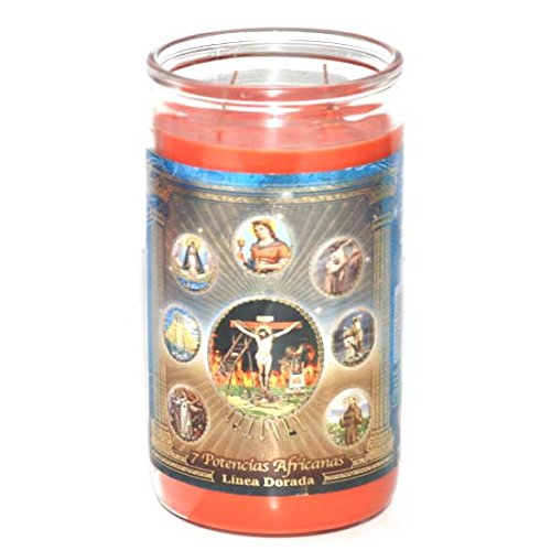 14Days Scented Candle 7 Potencias, Case of 6