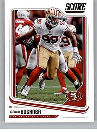 dc7ac54c17d Amazon.com  Football NFL 2018 Score  286 DeForest Buckner 49ers ...