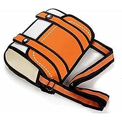 Orange Satchel 3D Cartoon Bag