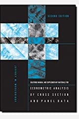 Student's Solutions Manual and Supplementary Materials for Econometric Analysis of Cross Section and Panel Data (The MIT Press) Paperback
