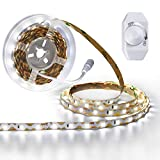 vanity lighting ideas YIHONG Dimmable LED Strip Lights Kit,16.4ft 300 LEDs Ribbon Lights for DIY Vanity Mirror Under Cabinet Lighting Strips,Soft White