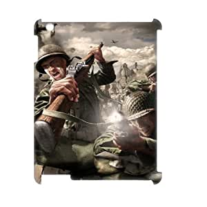 C-EUR Call Of Duty Pattern 3D Case for iPad 2,3,4