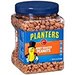 Planters Honey Roasted Peanuts (34.5oz, Pack of 2) 2 Planters presents honey roasted peanuts Seasoned with pure sea salt 160 calories per serving