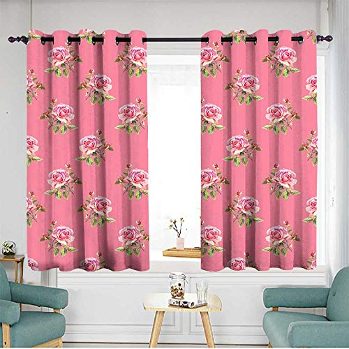 (home1love Blackout Curtains W 55