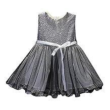Mapletop Sequins Girls' Dress Princess Tutu Dresses for Little Girls