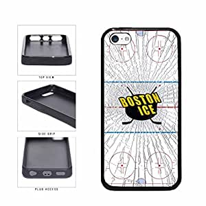 Boston Ice TPU RUBBER SILICONE Phone Case Back Cover Apple iPhone 5c