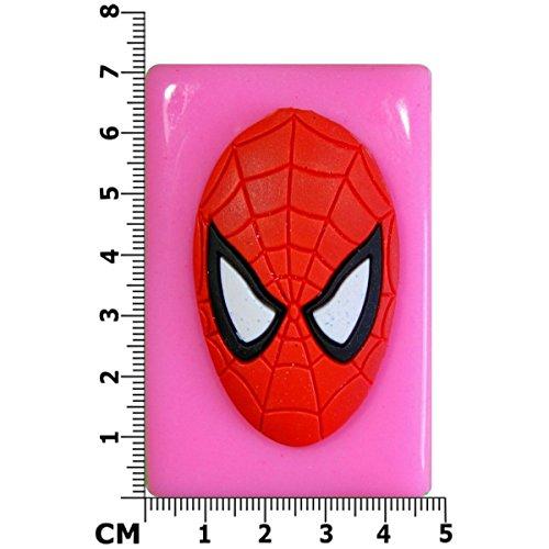 Grosse Spiderman Schablone Maske Silikonform Fur Kuchen Dekorieren