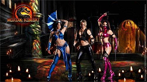 Da Bang Mortal Kombat Sonya Blade Mileena Kitana 20X30 Inch Poster Print