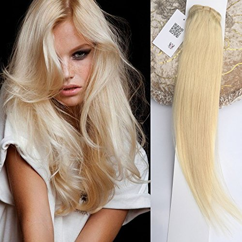 Rita Beauty Blonde Clip in Human Hair Extensions Silky Strai