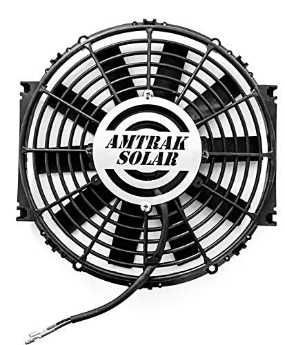 Amtrak Solar Powerful Attic Exhaust Fan