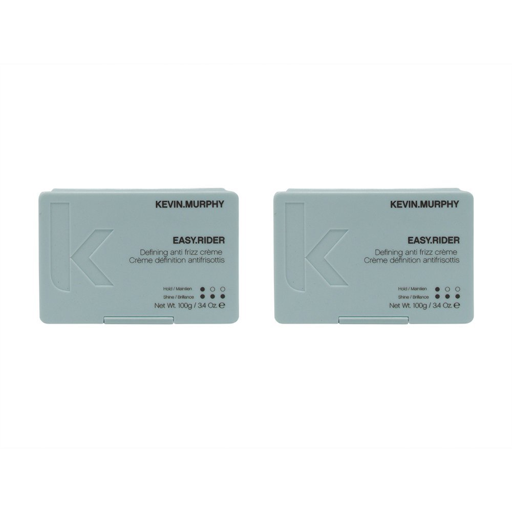 Bundle-2 Items : Kevin Murphy Easy Rider Anti Frizz Flexible Hold Cream, 3.4 Oz (Pack of 2)