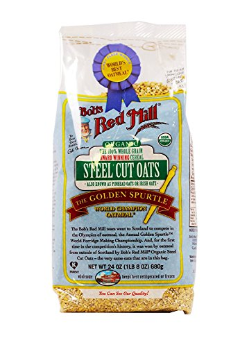 Bob's Red Mill Organic Steel Cut Oats - 24 oz - 2 pk