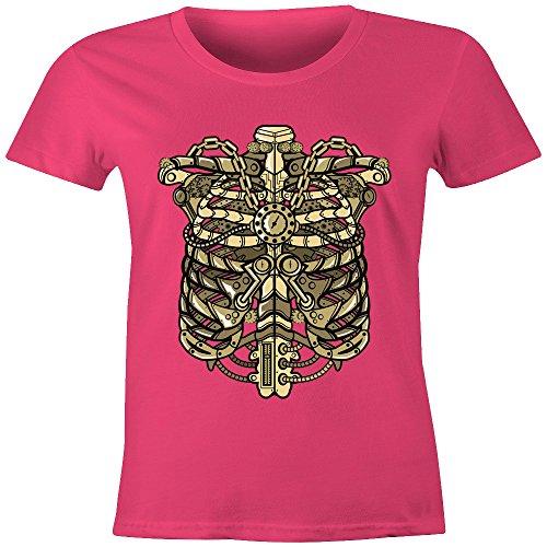 Merch Kingdom - Camiseta sin mangas - Manga Larga - para mujer Rosa