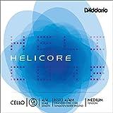 D'Addario Helicore Cello Single G String, 4/4 Scale, Medium Tension