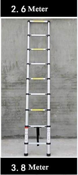 LADDER una Escalera Escalera de Dos Heces Taburete de Bar Escalera Pequeña Mini Tramo Aluminio Bilateral Escalera Escaleras de Incendios Trabajos Multifunción Barras de Seguridad Escalerilla: Amazon.es: Bricolaje y herramientas
