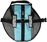 Dogline 30''-38'' MaxAire Mesh Vest for Dogs and 2 Removable Emotional Support Patches, X-Large, Turquoise
