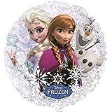 "Frozen 21"" Anna Elsa and Olaf Balloon"