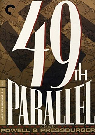 Image result for 49th parallel dvd