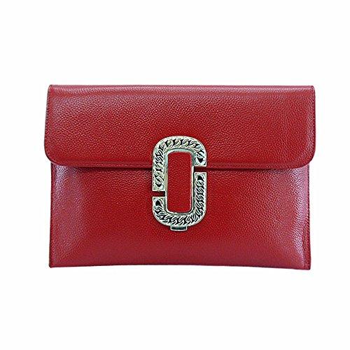 de Gules americanos bolsa seoras pulsera de mensajero y Embrague europeos cuero de Nueva Black De nqB4a6vwS