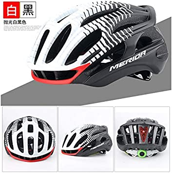 WRGWEHG Casco de Ciclismo Merida Bicycle Pneumatic Helmet ...