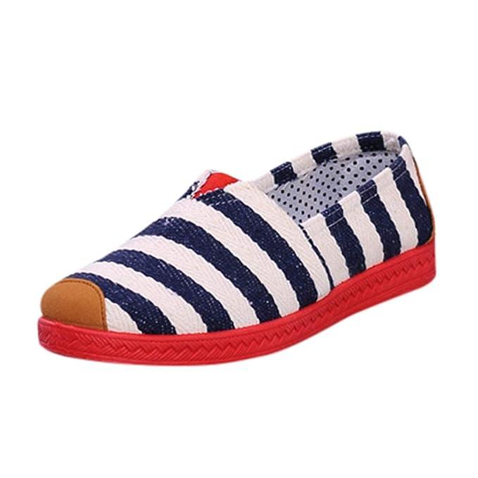 Alpargatas para Mujer ZARLLE Zapatosde Mujer Zapatillas Respirable Mocasines Deportes Casual Sandalias Antideslizantes Fitness Correr Calzado Deportivo ...