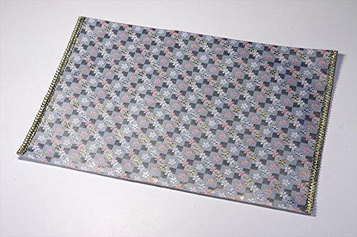 Yamako Buddhist Flame Retardant Sheet Safety Mat Blue by Yamako