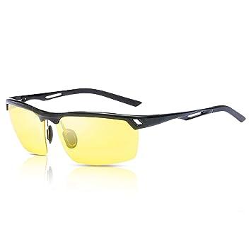 536bd76390 Hootracker Gafas de Visión Nocturna Polarizadas Gafas de Sol Visión Nocturna  Antideslumbrante Protección UV400 Conducción Pesca Disparos Esquí de Caza  ...