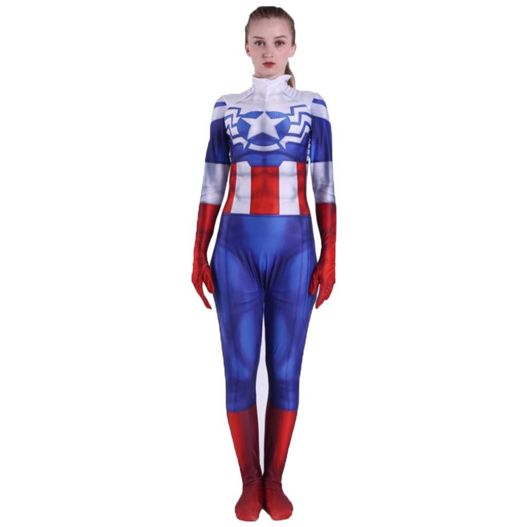 nihiug Capitán América Peggy Carter Disfraz de Halloween Peggy ...