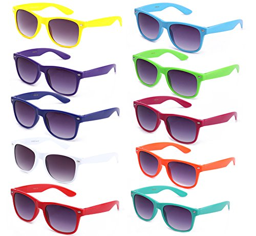 colorful wayfarer sunglasses - 3