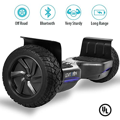 Levit8ion Latest 2018 REDESIGNED Xtreme SE 8.5' Off Road UL 2272 Hoverboard! 700w Dual Motor All...