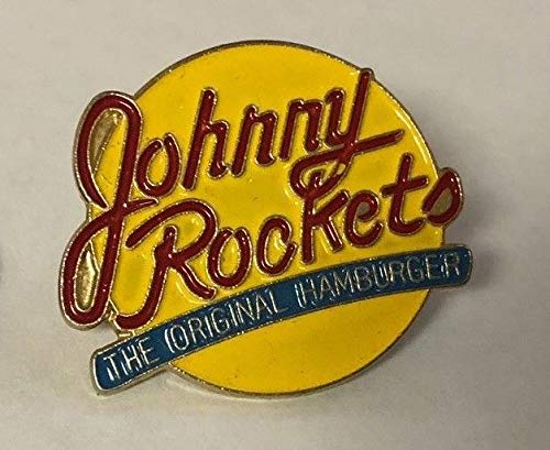 Johnny Rockets Advertising Pin