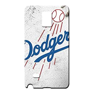 samsung note 4 Highquality Scratch-free Perfect Design mobile phone carrying skins los angeles dodgers mlb baseball